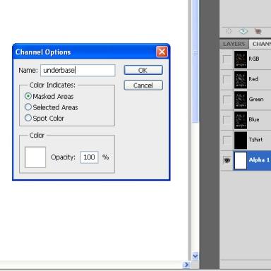 Channel Option Underbase