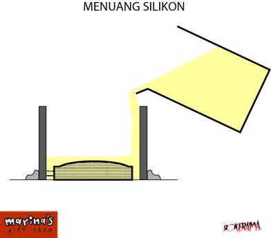 tuang silikon